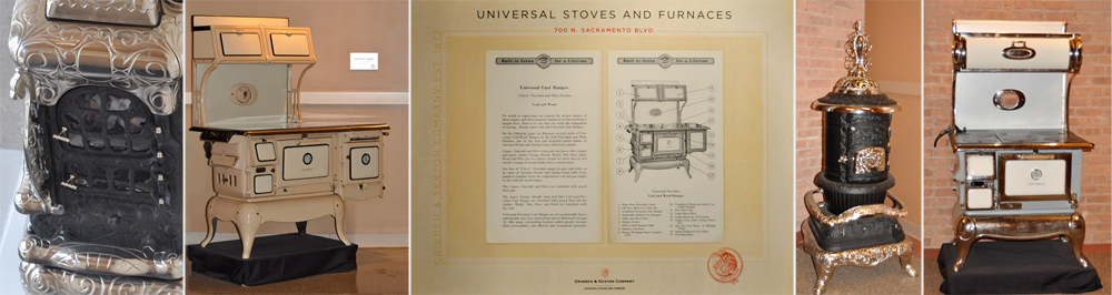 The company moves into its new building at 700 N. Sacramento and continues to produce stoves and armaments during the war years until the mid 1960's.
