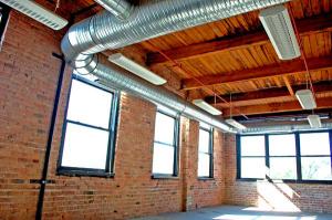 modern loft office space